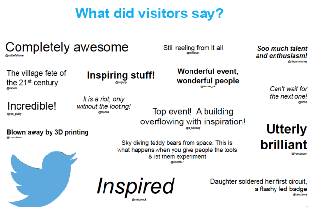 BMMF visitors quotes